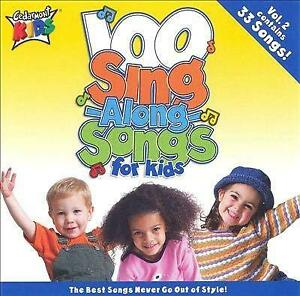 Various Artists - 100 Sing Along Songs For Kids Vol. 2 0844180543 (CD Used Good)