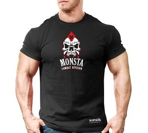 New Mens Monsta Clothing Fitness Gym T-shirt - CSS Center - Comb
