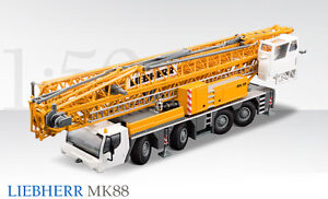 Conrad 2106 Liebherr MK88 Construction Crane 150 Die-cast Brand-new MIB