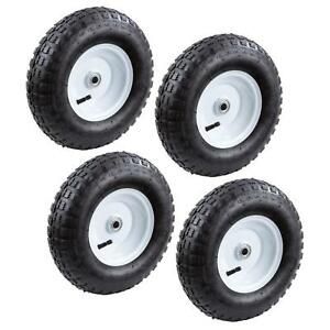 Farm & Ranch 13 in. Pneumatic Tire (4-Pack) New Replacement Inflatable Utility