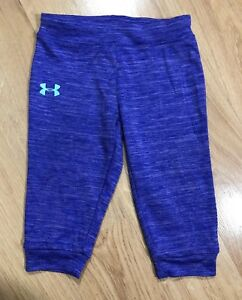 Baby UNDER ARMOUR Pants Size 12 Months Purple Heather And Green $10.99