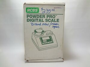 RCBS POWDER PRO DIGITAL SCALE For Parts not working
