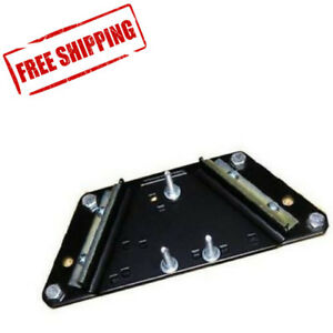 Bench Plate Steel Base Block Mounting System Quick Press Removal