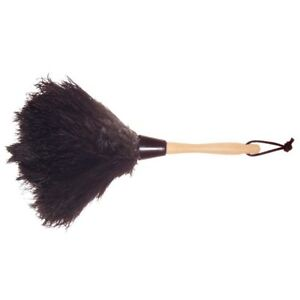 13 In. Ostrich Feather Duster Wool Shop Durable Dust Collecting Cleaning Tool