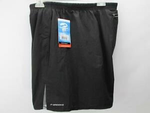 Brooks For Women Equillibrium Tecnology Running Shorts Black 2 X New With Tags