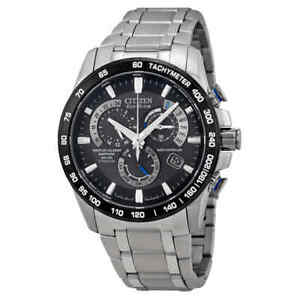 Citizen Perpetual Chrono A-T Eco-Drive Titanium Chronograph Men's Watch