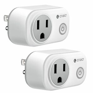 Smart Plug WiFi Enabled Mini Smart Switch Sockets Timing Function Work with
