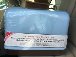 BLUE Hard Carrying Case 621B.01 for Singer Sewing machines. *** FITS OTHERS *** $22.95