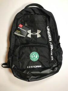 Under Armour Team Hustle Storm Joe Namath March of Dimes Backpack NWT Black