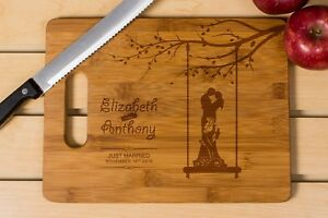 wedding cutting board, Kitchen decor,personalize cutting board,wooden engrave