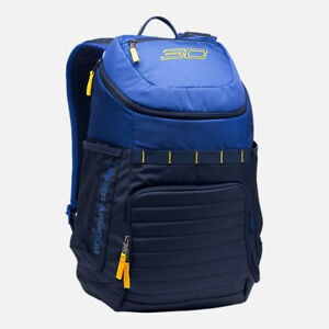 AUTHENTIC UNDER ARMOUR SC 30 Undeniable Navy Blue Yellow Taxi Backpack