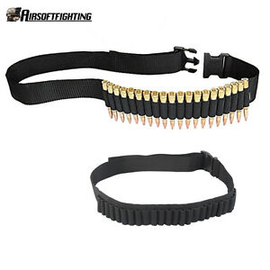 1X Tactical Hunting 25 Shell Cartridges Rifle Belt Holder for .30-06 .410 .223