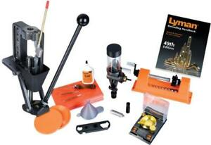Lyman Reloading Expert Deluxe Kit With Crusher Ii Universal Trimmer 7810149