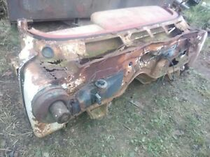 1962 CHEVROLET IMPALA SS CONVERTIBLE RUSTY COWL SECTION WITH TAG CONVERSION PART