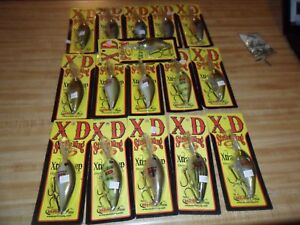Lot Of 16 Brand New Strike King KVD 8XD Xtra Deep Crankbait Fishing Lures