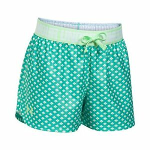 Under Armour Apparel Girls Play Up Printed Shorts Absinthe Green