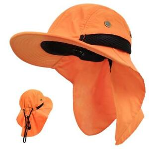 LETHMIK Kids Outdoor Sun HatWaterproof Fishing Cap for Children with Neck Flap