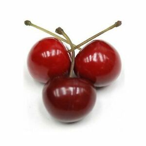 5/10x Artificial Cherry Faux Fruit Fake Food Wedding Party Home Table Decor