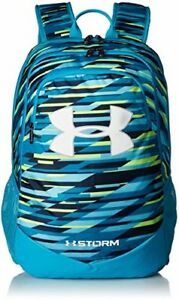 Under Armour Boy's Storm Scrimmage Backpack Green Typhoon (375)White