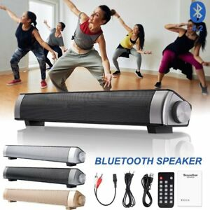 Wireless Bluetooth Speaker Soundbar Home TV Phone Audio Subwoofer Super Bass AUX