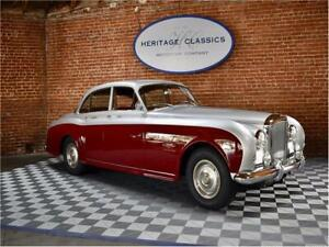 1960 Continental James Young 1960 Bentley Continental Silver over Claret with 3929 Miles available now!