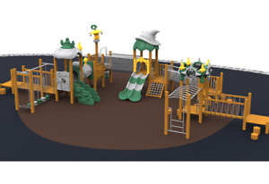 60x30x25 Commercial Playground Equipment Interactive 100% Financing Available