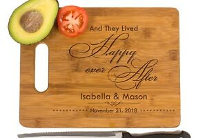 Wedding gift, Kitchen decor,Personalized Cutting Board,wooden engrave board