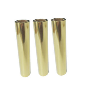 3 Rolls Gold Hot Foil Printer Universal Gold Foil  Rib LY400ALY400BLY400C