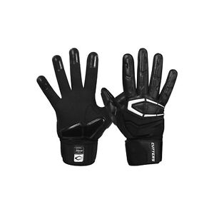 Cutters The Force 3.0 Adult Full Finger Lineman Gloves 01.Solidblack(Bts18) XXL