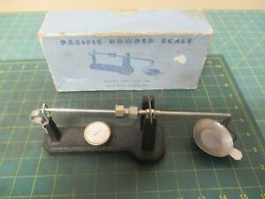 RELOADING TOOLS * POWDER SCALE * VINTAGE * PACIFIC * WITH WEIGHTS