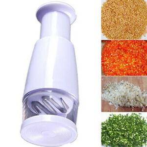 Kitchen Press Food Chopper Cutter Slicer Peeler Dicer Vegetable Onion Garlic #