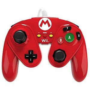 PDP Motion Controllers Wired Fight Pad For Wii U - Mario