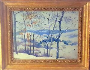 GUY C. WIGGINS  Winter in the Connecticut Valley