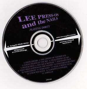 Lee Press-on And The Nails – Playing Dirty CD DISC ONLY Swing