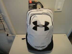 Under Armour Scrimmage Strom 1 Boys Youth BackPack Water Resistant Black