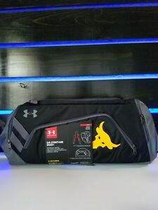 Under Armour Project Rock Delta UA Contain Duo+ Backpack Duffel Bag The Rock