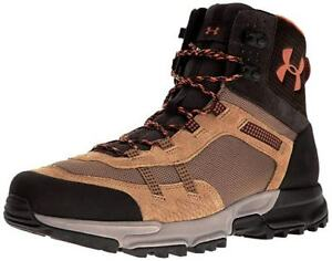 Under Armour UA Post Canyon Mid Brown Mountain Trail Hiking Boots 11 Mens