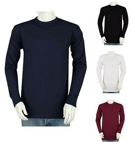 Styllion Big and Tall Mens Shirts Crew Neck Long Sleeve Heavy Weight CLS $19.99