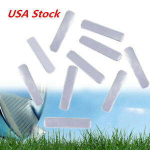 10Pcs Lead Tape Add Swing Weight For Golf Club Tennis Racket Iron Putter USA