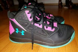 Girls' Under Armour Jet Mid Basketball Shoes Size 2.5