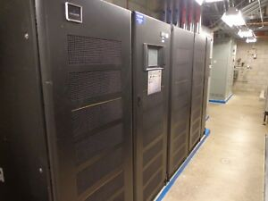 Liebert Emerson 750 KVA NXL UPS 2013 w 5 battery cabinets & MBS - 2 Available