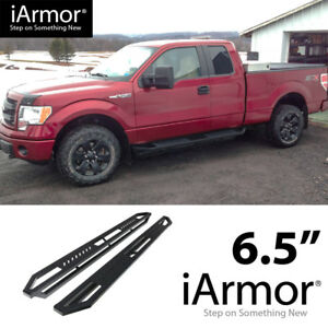 iArmor 6.5quot; Side Steps Armor Square for 99 16 Ford F250 F350 SuperDuty SuperCab $285.00