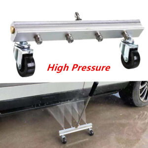 High Pressure Car Body Chassis Washer 4 Spray Nozzle Water Gun Cleaning 14