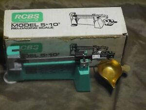 RCBS 5-10 Loading Scale Used Complete wBox Exc++