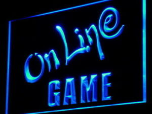 i960 Online Game Cafe Center Internet Lure Light Sign OnOff Swtich 20+ Colors 5