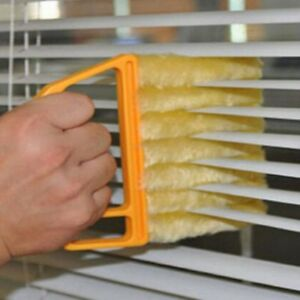 Microwave Cleaner Window Curtain Venetian Blind Cleaner Duster Cleaning Brush US