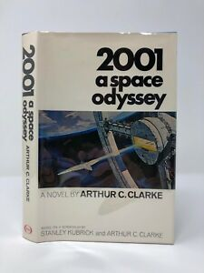 Arthur C Clarke - 2001 A Space Odyssey - SIGNED First Edition  1st Printing