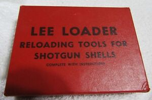 RARE FIND - Vintage LEE LOADER 10 Ga. 3 12