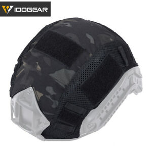 IDOGEAR Tactical Hunting Combat Helmet Cover Skin for Fast Helmet Paintball Gear