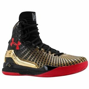 Under Armour Clutchfit Drive Award Season Black Red Gold Chinese New Year sz 12